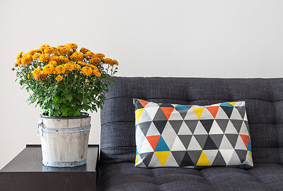 Complement your blank canvas with punchy colours and prints