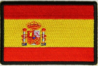 BRAND NEW SPAIN STATE COUNTRY SPANISH FLAG IRON ON (Spain Country Flag)