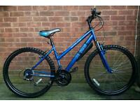 "Apollo xc.26 ladies/girls bike,26""wheels,18 speed,front suspension"
