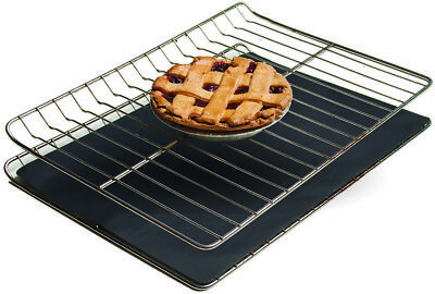 """Non-stick Oven Liner - Heavy Duty Reusable Easy to Clean Baking Mat 26"""" x 16"""""""