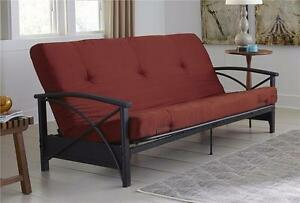 "6"" Full-Size ( 54x75 ) Futon Mattress ONLY.- 4 Colors"