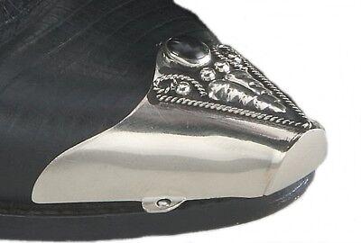 Stiefelspitze oder Stiefelhacke Westernstiefel verziert mit schwarzem - Schwarze Western Stiefel