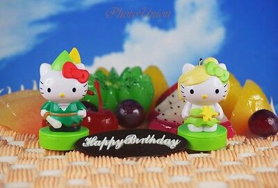 ll Peter Pan Tortenfiguren Kuchendekoration Dekor Figur 04CD (Hello Kitty Kuchen Dekor)