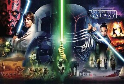 Star Wars Ultimate Movie Poster Journey Rise of Skywalker Galaxy Limited Edition