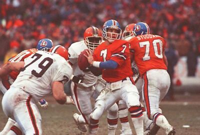 JOHN ELWAY THE DRIVE NFL FOOTBALL Poster 24 x 36 inch