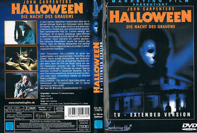 HALLOWEEN - DIE NACHT DES GRAUENS --- TV Extended Version --- 10 Minuten länger  - Halloween Tv Version Dvd