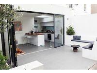 Aluminium Bi-fold Doors, Glazed - DIRECT FROM UK - THE FOLDING SLIDING DOOR COMPANY from £1886.89