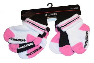 Harley-Davidson Girls Baby Toddler Bar /& Shield Logo Pink Sweat Pants 4000603
