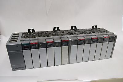 Allen Bradley Slc 500 Io System 1746-a13 13 Slot Rack