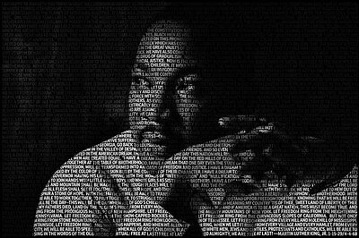 Martin Luther King, Jr. - I have a dream Poster