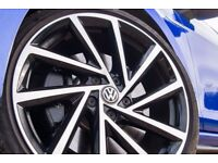 18 inch New Golf R style wheels. (Reps)