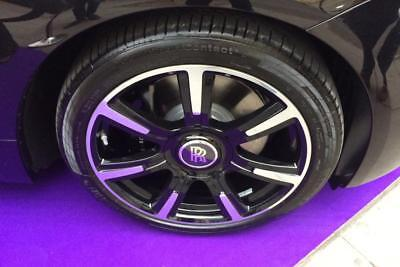 4 GENUINE ROLLS ROYCE GHOST WRAITH WHEELS TIRES RIMS BESPOKE RARE 21 INCH OEM