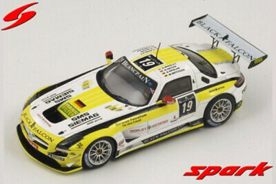 1:43 Mercedes SLS n°19 Spa 2012 1/43 • SPARK SB034 #