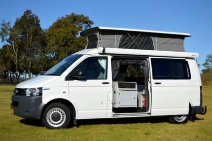 2010 Volkswagen Automatic Frontline Campervan with Very Low Km