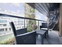 1 BED CANAL FACING * * TOP SPEC * * BALCONY * * HAGGERSTON