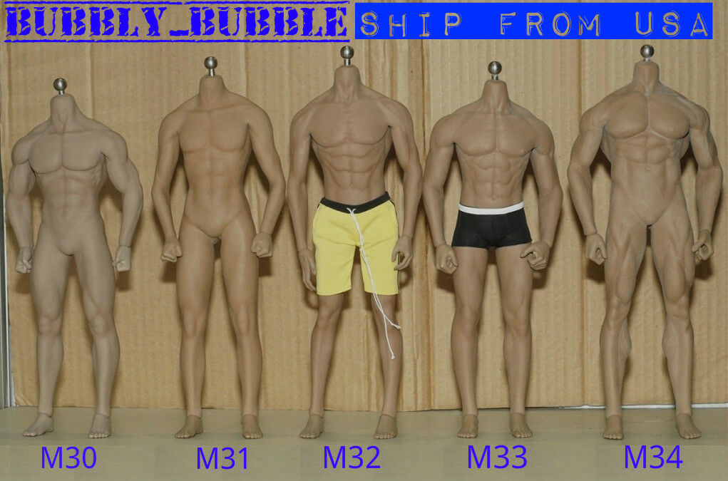 PHICEN TBLeague 1/6 Steel Skeleton Male Muscular Seamless Body Super-Flexible