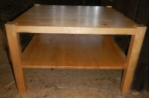 oak coffee and end tables Cambridge Kitchener Area image 2
