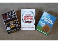 QI type books x3 by John Lloyd & John Mitchinson