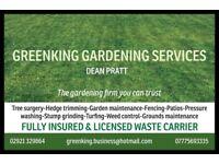 Greenking gardening services