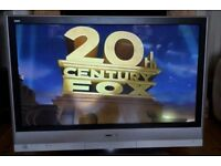 """42"""" Panasonic plasma TV with stand and remote control"""