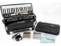 Zerosette 4 Voice Musette MIDI Accordion - with Roland Ra-90 Sound & Rhythm Module