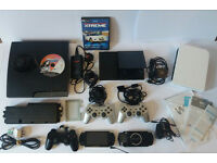 SONY PSP X2,,PS2,,WII,,PS3..AND MORE SPARES AND REPAIRABLE PLEASE READ!!!