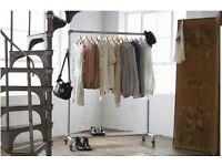 Brave rail industrial design clothes rail 150cm