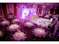 Full wedding package + Decor + Linen + Entertainment