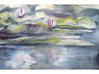Watercolour Workshop - Friday Mornings - Beginners & those wanting to refresh their skills!