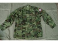 NEW - SERBIAN ARMY M93 Oakleaf CAMOUFLAGE Combat JACKET (Large)