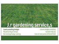 J.R gardening services leeds