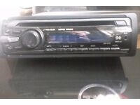SONY radio cd player with mp3 excellent working order