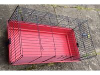 Tall cage for small animal rabbit, guinea pig