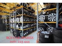 Ford + Vauxhall Alloy wheels inc tyre