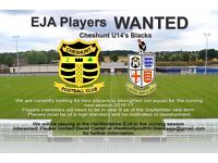 Cheshunt Youth FC Under 14's EJA - Looking for New Football Players