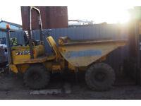Thwaites 3 ton Dumper 4wd