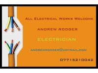 Professional and Reliable Electrician, All Electrical Works Undertaken, Free Quotations,