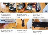 Left Handed GOLF CLUB SET BUNDLE & Travel Bag - Special Bundle Price