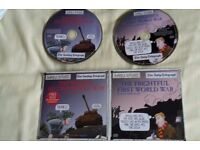 Horrible Histories Audio CD's - First and Second world war