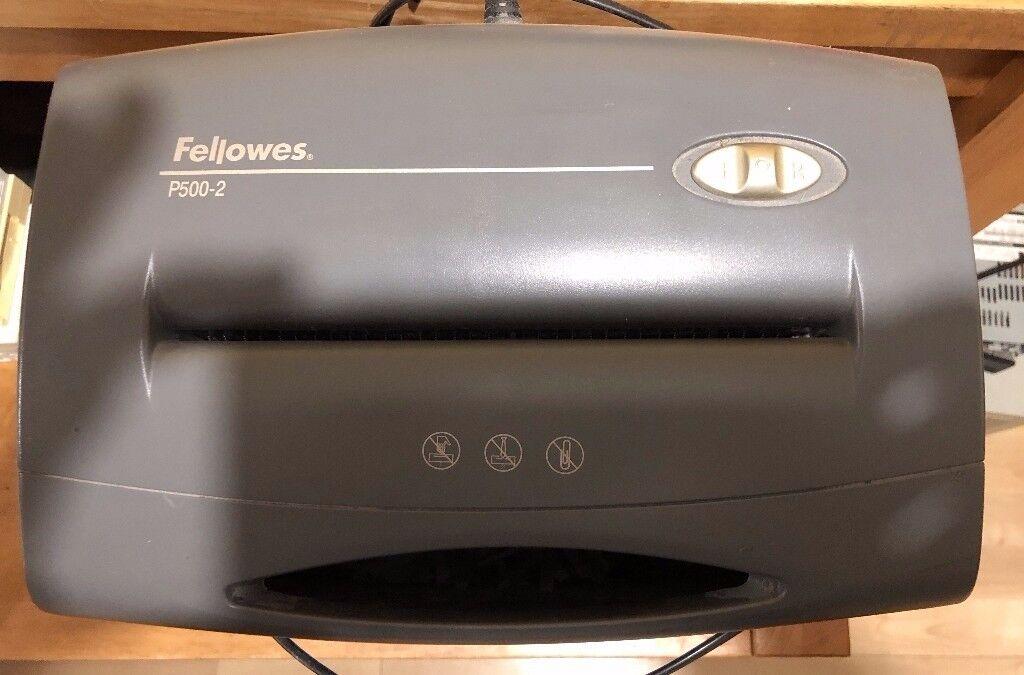 Fellowes P500-2 Shredder