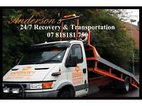 CAR VEHICLE TRANSPORTATION BREAKDOWN RECOVERY COLLECTION DELIVERY SERVICE WEST MIDLANDS
