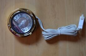 Down lights. Campervan/ Motorhome 26. Low Voltage. 10w. Brass effect. Brand new in boxes.