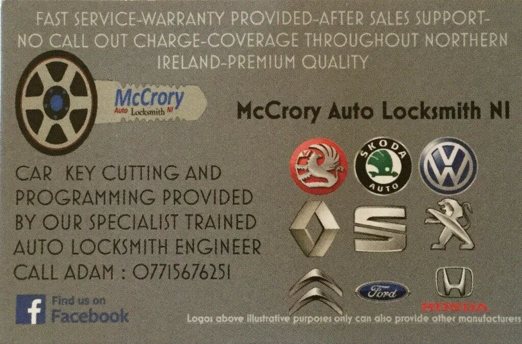 Keys programmed or cut any make or model from£50 free call out