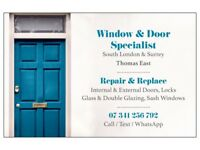 Windows & Doors - Repairs, Replacement, Glass, Double Glazing, Sash - Fitters, Glaziers, Locksmiths