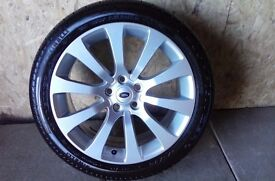ALLOYS X 4 OF 20 INCH GENUINE RANGEROVER/DISCOVERY/FULLY POWDERCOATED IN DUTCHSILVER NEVER BEEN USED