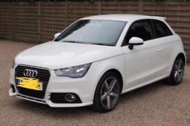 Audi A1 1.4 TFSI Sportback 3dr White.