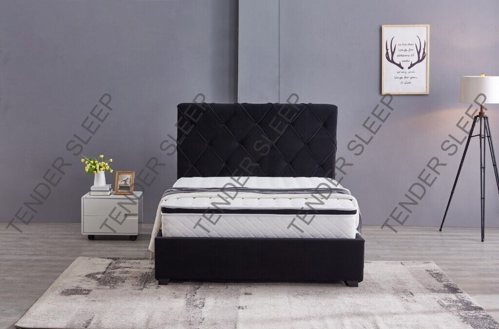 Prime Excellent Quality New Bakersfield Ottoman Storage Bed Frame With Mattress Same Day Delivery In Croydon London Gumtree Uwap Interior Chair Design Uwaporg