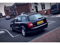 Quick sale, Black AUDI A4 Estate Limited Edition, perfect family car, MOT to next year !