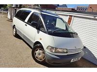 ## RARE 1996 N Toyota Previa 2.4 GL Auto Camper Caravan ##