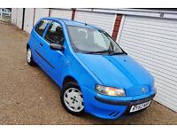## CHEAP 2003 52 Fiat Punto 1.2 Active Sport 3 Door Manual ##